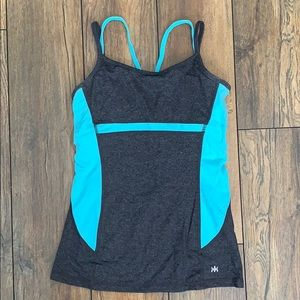 Activewear Top with Padded Bra